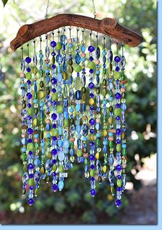 Not Your Mama's WindchimesYou can find Wind chimes and more on our website.Not Your Mama's Windchimes Driftwood Projects, Driftwood Art, Diy Projects, Home Crafts, Crafts To Make, Diy Crafts, Carillons Diy, Wind Chimes Craft, Seashell Wind Chimes