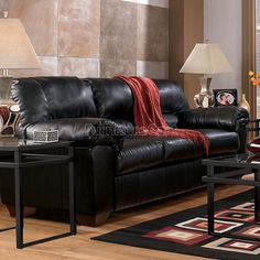Ordinaire Commando   Black Full Sofa Sleeper