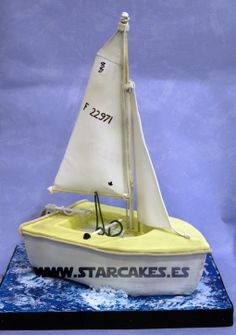 tarta barco velero Sail Boat cakeSíguenos Facebook: https://www.facebook.com/starcakes.es Instagram: http://instagram.com/starcakesmadrid