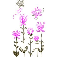 Flower wall sticker #9 Stylized Kids Room Wall Stickers, Flower Wall Stickers, Wall Decals, Bedroom Wall, Shower Ideas, Promotion, Home And Garden, Butterfly, Baby Shower