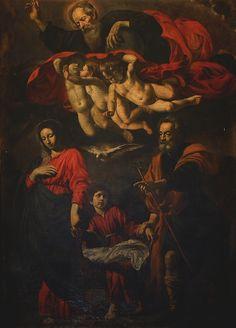 Giovanni Battista Caracciolo (Il Battistello), The Rest on the Flight to Egypt, 17th century