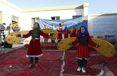 Circus performance on Elimination of Family Violence in Shakardara district of Kabul province