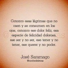 Conozco... José Saramago.