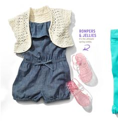 Nothing gets cuter than baby rompers