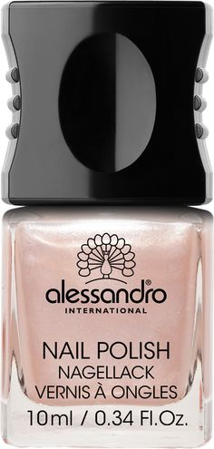 Nail Polish 07 Shimmer Shell One of alessandro International's 99 top fashion colors, designed to make the heart of any nail polish freak beat faster. And now with a new patented formula for even more brilliance on nails: Incredible long durability , Fast drying, No chipping, Smooth & streak free application, High color intensiveness due to UV absorber, Protects nails, High gloss shine.