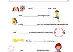 Reading & Writing Worksheets | Education.com