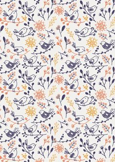 new patterns by little cube studio for children's design, via Behance