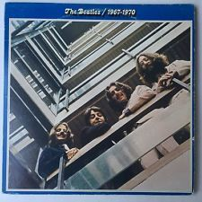 Apple Records SKBO-3404; 2 LP SET; jacket with very good graphics; light spaced out spotting and edge wear; inside jacket looks great-gatefold intact; both vinyls are very sleek and shiny; look and pl