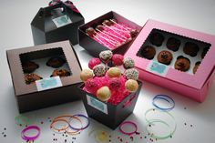 Cupcake Crazy in Cincinnati Packaging for Cupcakes and Cake Pop