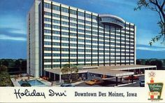 Holiday Inn 1963 with the revolving restaurant