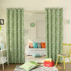 Drapes & Curtains - Best Home Fashion - Zebra Darkening Grommet Curtains – Oxeme Home