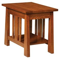 Amish Freemont Mission Open End Table