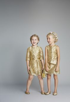 Shop the Dolce  Gabbana SS14 Girl's Capsule Collection at Melijoe.com
