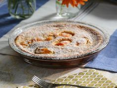 Get Apricot Clafouti Recipe from Food Network