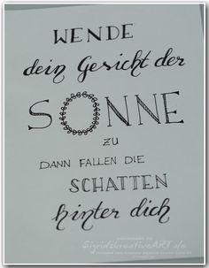 Sigrids kreative ART ❁ Stampin' Up! Ideenblog für Münster und Umgebung: Verwöhnt?  #handletterin #lettering