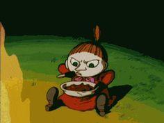 Little My - Finn Family Moomintroll My Character, Character Design, Little My Moomin, Moomin Wallpaper, Tove Jansson, Moomin Valley, A Comics, Cute Drawings, Kawaii Anime