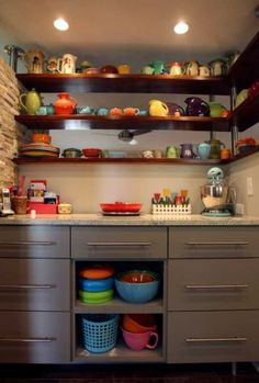 Colored Dishes!!!