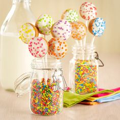 Blondie Cake Pops - Recipe from Price Chopper