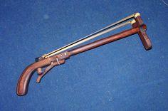 Slingshot Rifle. Oooh! Honey... I think I need one of these!!! XD