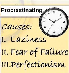 How to stop procrastinating?!?