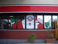 Holiday Window Painting Ideas | Christmas Window Painting-