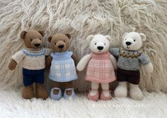 ...and bears, oh my! (Little Cotton Rabbits)