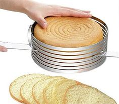 Bakeware Bakery Tools Decorating Tools Cooking Makers Stainless Steel Cake Mousse Mould Cake Bakery Adjustable Setting Ring By Gangnumsky >>> Want to know more, click on the image.