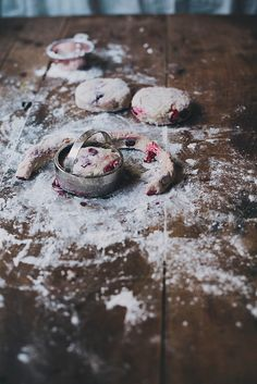 {fresh} cranberry scones based on a Bon Appetit recipe 3 cups AP flour cup sugar, extra for sprinkling 1 tbsp baking. Kitchenaid, Cranberry Scones, Vanilla Milk, Muffins, Fresh Cranberries, Cupcakes, Sweet Bread, Love Food, Sweet Recipes