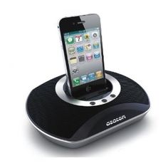 AZATOM® UFO Docking station portable speaker for iPod & iPhone / Built-in High power rechargable battery / Remote Control / Unique design / Quality sound with bass port technology: £36.99