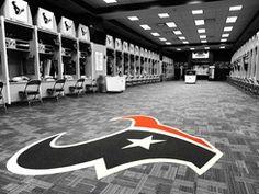 Texans Locker Room