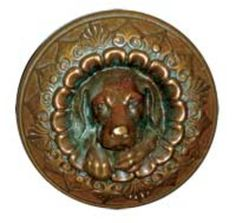 R&E's original doggie knob, which debuted in is now a highly coveted piece among collectors. Door Knob Lock, Door Knobs And Knockers, Knobs And Handles, Door Handles, Vintage Door Knobs, Vintage Doors, Antique Doors, Folk Victorian, Victorian Door