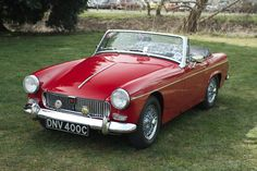 MG Midget 1965. Loved ours, even though the exhaust kept falling off