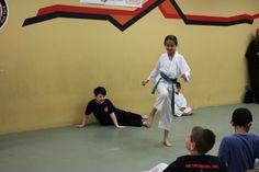 Students Kicking Karate Kick, Kicks, Students, Tuna