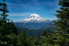 Mt. Rainier, Washington, Pacific Crest Trail