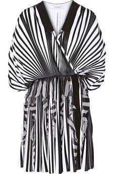 Givenchy Pleated jersey mini dress | NET-A-PORTER