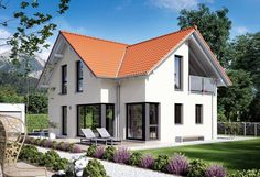 Edition 3 V6 - Bien Zenker ➤ Fertighaus mit Satteldach ✔︎ Bilder ✔︎ Grundrisse ✔︎ Preise jetzt ansehen auf HausbauDirekt.de