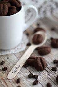 Tündérsüti: Kávébab keksz Autumn Winter Recipes, Winter Food, Measuring Spoons, Toffee, Vegan Recipes, Vegan Food, Bakery, Food And Drink, Cookies