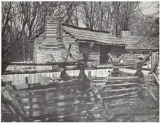 [www.fulkerson.org] ~ Log Cabins on the Frontier