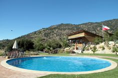 """""""Glamping,"""" camping without roughing it,  Colchagua, Spain"""