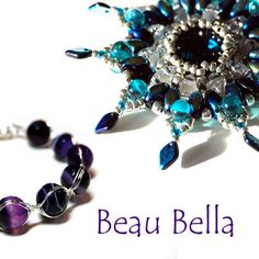 www.BeauBellaJewellery.etsy.com Beautiful & unique beaded & wire pendants, necklaces, bracelets & earrings. Handmade using semi-precious gemstones, beads, Swarovski elements & sterling silver, copper or silver plated wire, metals and findings.