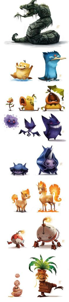 Amazing Pokemon Re-Design