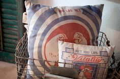 Farm Pillows  Photo from Farm House collection by Elizabeth Newton Photography