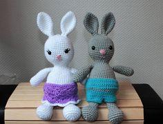 Easy Amigurumi Pdf : English norsk crochet pattern amigurumi bunnies pdf tutorial easy