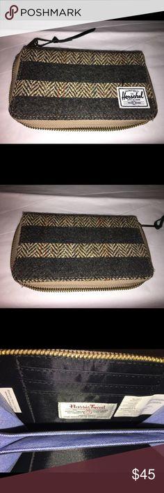 Herschel Harris Tweed Wallet BNNT Brand-new in on worn no tags no issues order smoking or pets Herschel Harris Tweed Bags Wallets