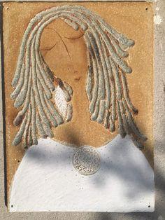 Kachle – zuzana-strakova – album na Rajčeti Ceramic Wall Art, Ceramic Pottery, Watercolours, Paper Mache, Clay Art, Sculpting, Modern Art, Mosaic, Textiles