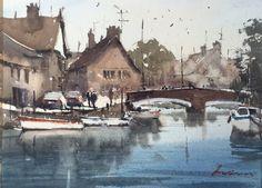 Ian Michael McManus - Watercolour Artist Watercolor Art, Gallery, Artist, Painting, Boats, Landscapes, Paisajes, Scenery, Watercolor Painting