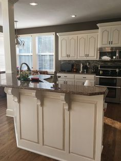 Painting Kitchen Cabinets is a perfect way to update and modernize your kitchen. We can teach you How to Paint Kitchen Cabinets right the first time. Otherwise you're wasting time and money. You'll become a pro at Painting Cabinets. How to Paint Cabinets. Kitchen Paint, Kitchen And Bath, Diy Kitchen, Kitchen Decor, Kitchen Ideas, Open Kitchen, Awesome Kitchen, Rustic Kitchen, Kitchen Cabinets Designs