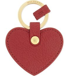 MULBERRY - Leather heart keyring | Selfridges.com