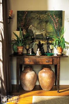 British Colonial look i love. Tropical-chic Design - Vignette by J. Seitz & Company