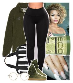 """"""""""" by tropic-baby ❤ liked on Polyvore featuring Victoria's Secret, Eco Style, Victoria's Secret PINK, NIKE and The Row"""